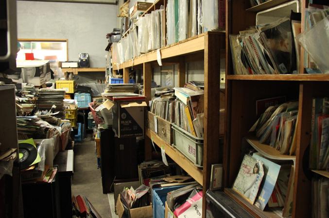 レコード置き場