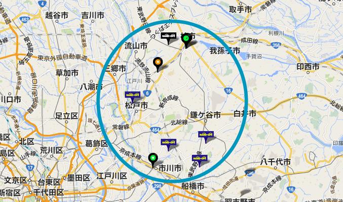 千葉東部dig-map
